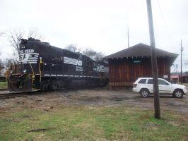 Norfolk Southern 5086 by CNW8646