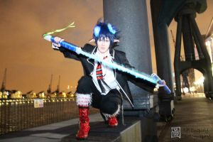 Ao no Exorcist: Rin Okumura by Bekumura