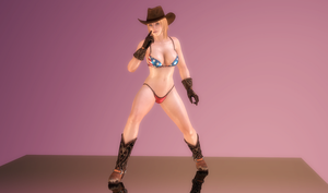 Tina Armstrong - Cowgirl Showtime - 05 by HentaiAhegaoLover