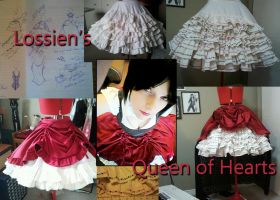 Queen of Hearts : Original Design : WIP by Lossien