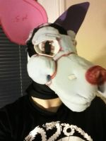 WIP First Fursuit head right by Wolffe-Soulspirit