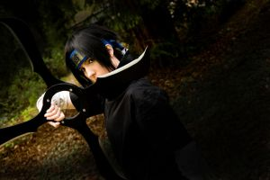 In the focus - uchiha Sasuke by Dark-Uke