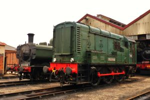 Locomotives - Didcot Railway Centre by PhilsPictures