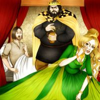 Game of Thrones  - Eddard X. by Hed-ush