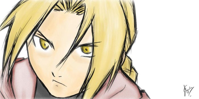 Ed Elric by fmagalhaes