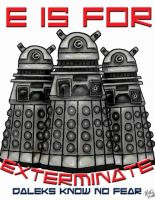 E is for Exterminate by harrell19