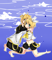 Kagamine by Monakath1