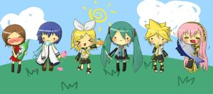 Vocaloid Chibi Pack by Ab-anna