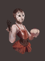 Owl maid by Dragoreon