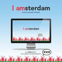 Wallpaper 'I amsterdam' by redsoul90