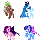 Pony : Deer and Fairy 1 (0/4 CLOSE) by JessyB-Design