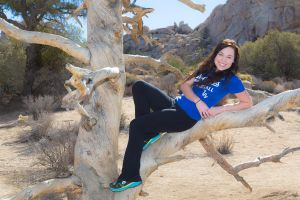Tree Climbing at Joshua Tree by A-Glass-Brightly