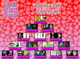 My Top 15 Favorite Animated Couples by Toongirl18