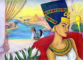 Nefertiti by egypt-club