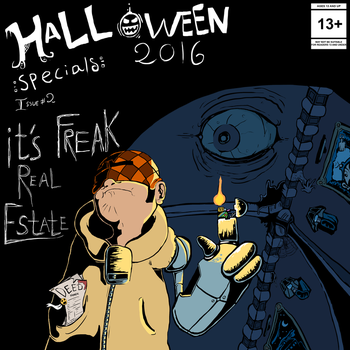 Halloween Specials #2 Geebomb by JacketRockArt