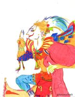 Kefka by ArtismyDeath