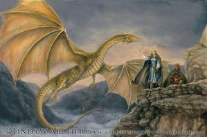 Valley of the Dragons by LinzArcher