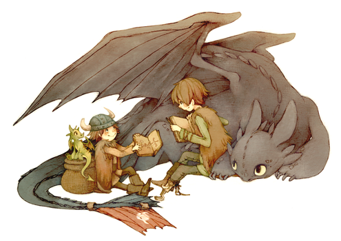 How To Train Your Dragon by Luce-in-the-sky