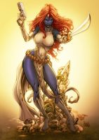 Mystique by Pant by artmunki
