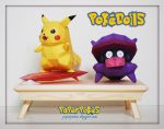 Pokedoll Table Papercraft by PaperBuff