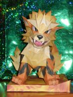 Papercraft Arcanine by PlushPrincess