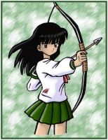 Kagome's Arrow by Kawaii-Miaka-Sakura