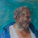 Old Man of Blackpool in Oils by StefanRess