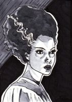 Bride of Frankenstein 1 by Maija