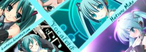 Vocaloid - Miku Bookmark by DrawToLive