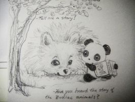 Panda Tell Me A Story by MelodicInterval