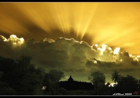 Borobudur Temple by neoxavier