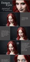 Demon Eyes Ps Tutorial by LadyEvilArts