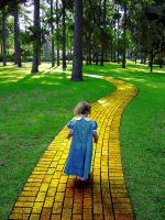 Yellow Brick Road by shark3000
