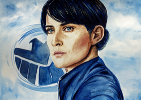 Maria Hill by selfOblivion