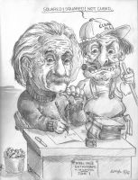 Einstein by marcgosselin