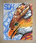 Ministeck - Firewing Gryphon by solo-ion