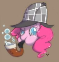 Detective Pinkie is on the case! by Radioactive-K