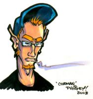 Corman Color Sketch by paigey