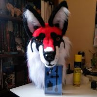 Azure fursuit by KoutaOni