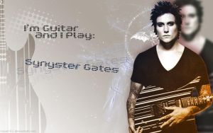 I play Synyster Gates by Hosam93