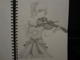 Weiss on Violin by XxSgtCampbell