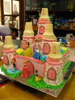 My 3rd Castle Birthday Cake by meechan