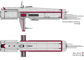 Hyperion Battleship by EdXCal