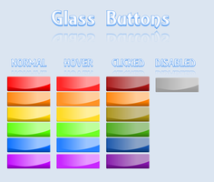 Glass Buttons by Purple-Rage