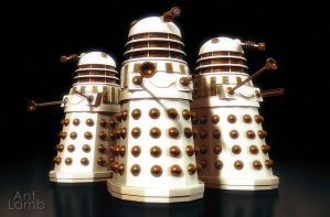 Imperial Daleks 1 by AntLamb