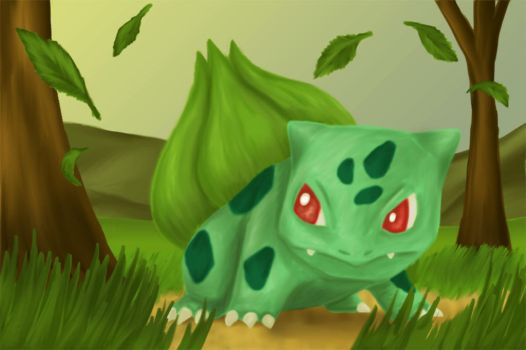 Bulbasaur by artisticpuppy