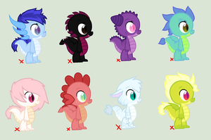 Baby dragon adopts (CLOSED) by Soulnik-Adopts