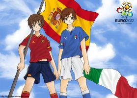 Euro 2012 - Spain vs Italy by Didi-hime