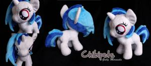 Filly Vinyl Scratch custom plush by Chibi-pets
