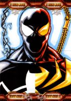IM2 Sketch Cards: Spider-Man by FrankRapoza
